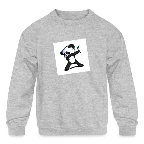 Panda DaB - Kids' Crewneck Sweatshirt