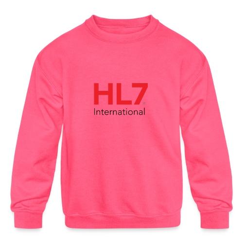 HL7 International - Kids' Crewneck Sweatshirt