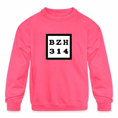BZH314 Games Big Logo - Kids' Crewneck Sweatshirt