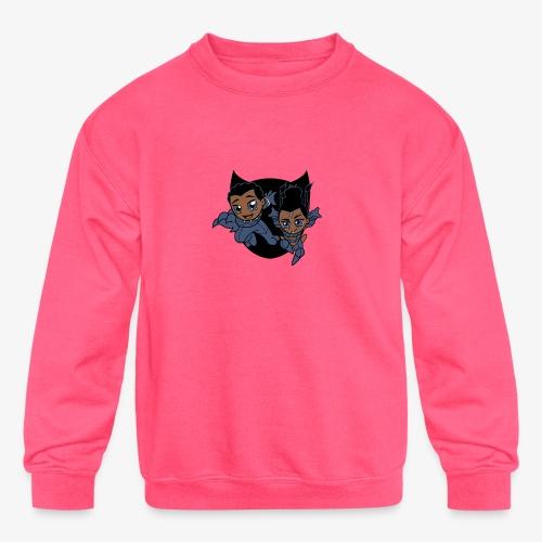 ReckLess Youngster Superhero - Kids' Crewneck Sweatshirt