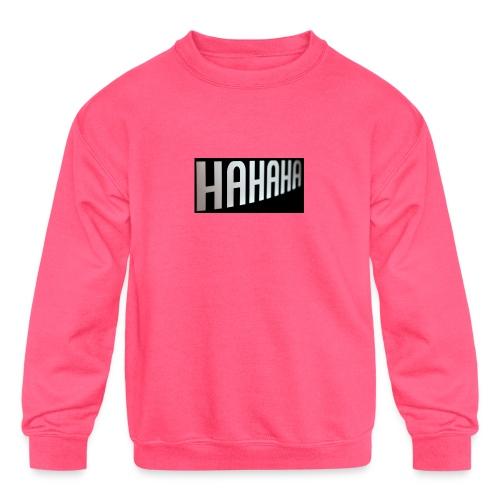 mecrh - Kids' Crewneck Sweatshirt