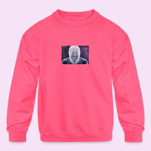 Brain storm - Kids' Crewneck Sweatshirt