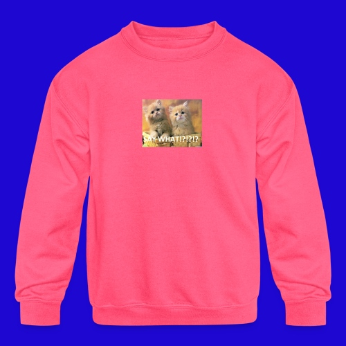 Cute Cats - Kids' Crewneck Sweatshirt