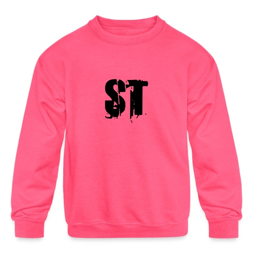 Simple Fresh Gear - Kids' Crewneck Sweatshirt