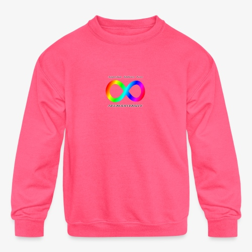 Embrace Neurodiversity - Kids' Crewneck Sweatshirt