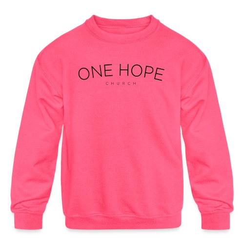 One Hope Church - Kids' Crewneck Sweatshirt