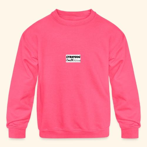 straydog clothing - Kids' Crewneck Sweatshirt