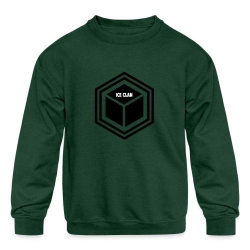 ICEclanLOGO - Kid's Crewneck Sweatshirt