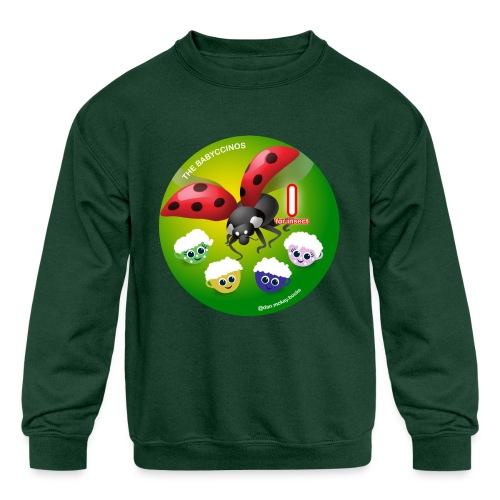 The Babyccinos Alphabet The Letter I - Kids' Crewneck Sweatshirt