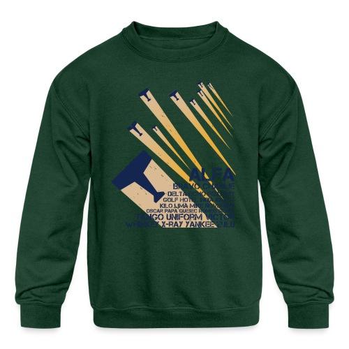 International Phonetic Alphabet - Kids' Crewneck Sweatshirt