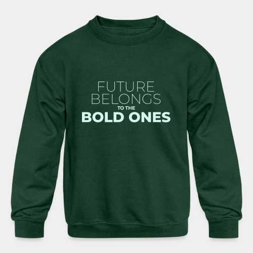 future bold - Kids' Crewneck Sweatshirt