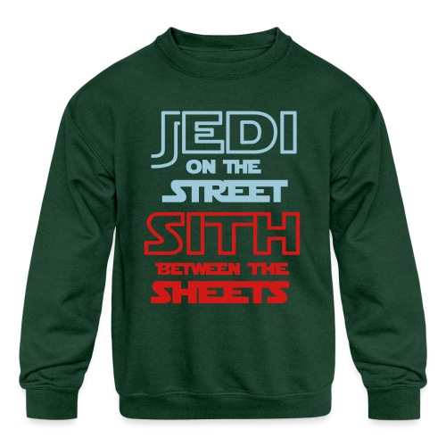 Jedi Sith Awesome Shirt - Kids' Crewneck Sweatshirt