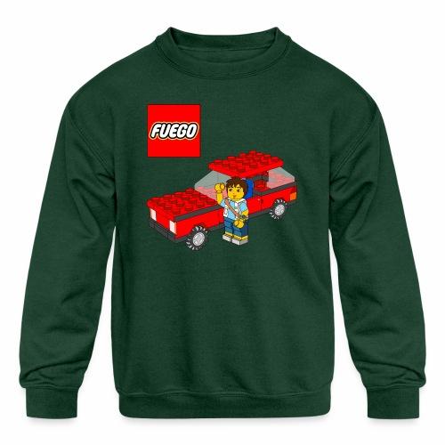 fuego - Kids' Crewneck Sweatshirt