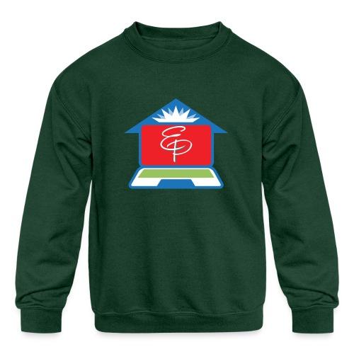 EP Logo Only - Kids' Crewneck Sweatshirt