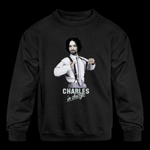 CHARLEY IN CHARGE - Kids' Crewneck Sweatshirt