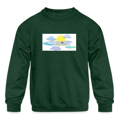 Sea of Clouds - Kids' Crewneck Sweatshirt