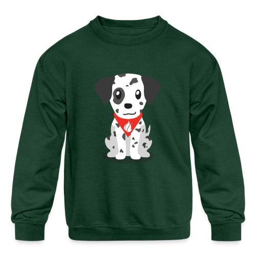 Sparky the FHIR Dog - Children's Merchandise - Kids' Crewneck Sweatshirt