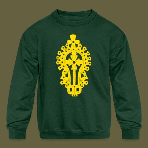 Lasta Cross - Kids' Crewneck Sweatshirt