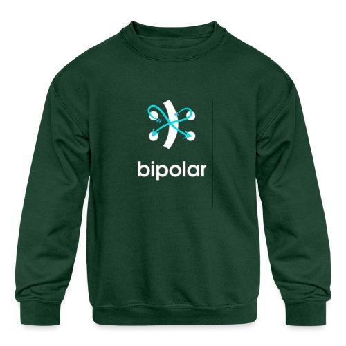 bipolar - Kids' Crewneck Sweatshirt