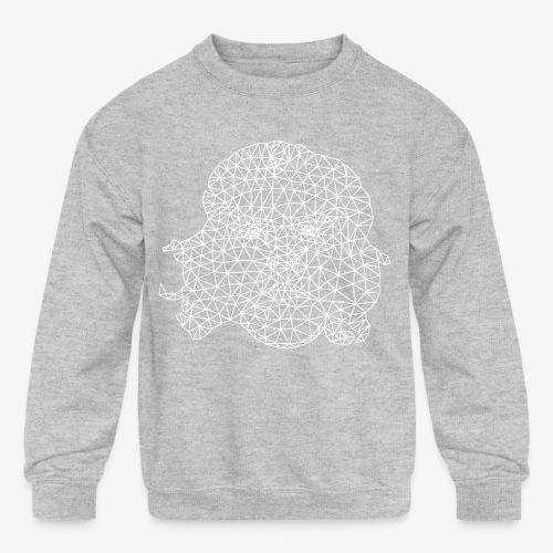 White Che - Kids' Crewneck Sweatshirt