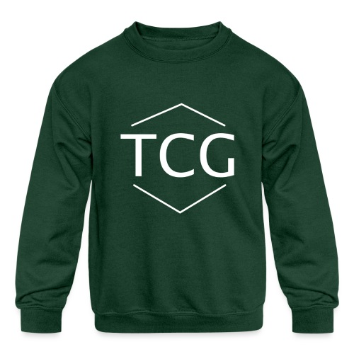 Simple Tcg hoodie - Kids' Crewneck Sweatshirt