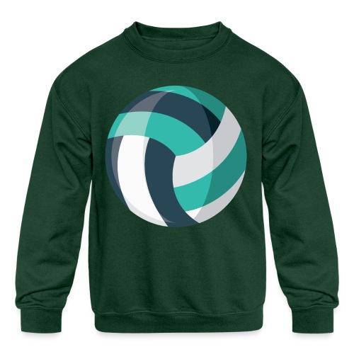 Volleyball - Kids' Crewneck Sweatshirt