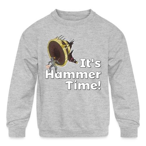 It's Hammer Time - Ban Hammer Variant - Kids' Crewneck Sweatshirt
