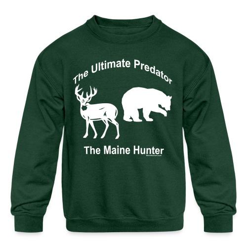 Ultimate Predator - Kids' Crewneck Sweatshirt