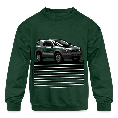 VX SUV Lines - Kids' Crewneck Sweatshirt