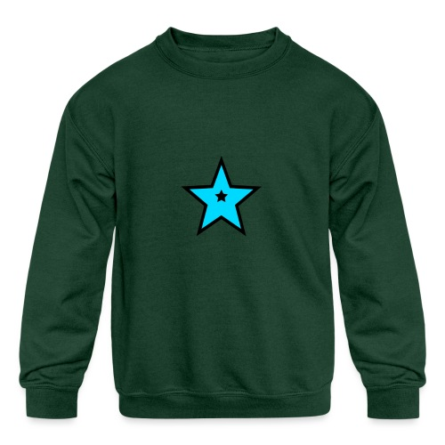 New Star Logo Merchandise - Kids' Crewneck Sweatshirt
