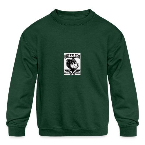 beararms - Kids' Crewneck Sweatshirt