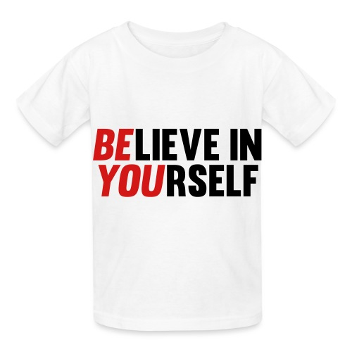 Believe in Yourself - Hanes Youth T-Shirt