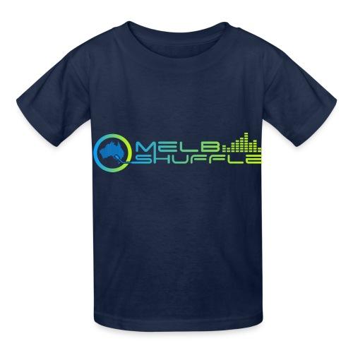 Melbshuffle Gradient Logo - Hanes Youth T-Shirt
