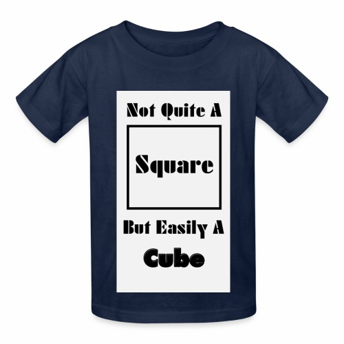 Not Quite A Square But Easily A Cube - Hanes Youth T-Shirt