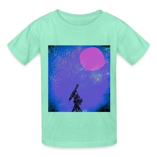 Telescope Diderot's Encyclopedia - Hanes Youth T-Shirt