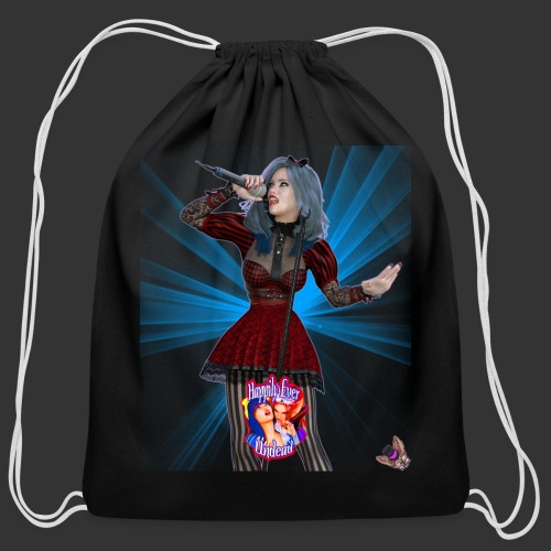 Happily Ever Undead: Alicia Abyss Singer - Cotton Drawstring Bag