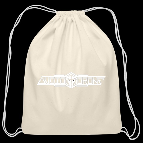 Audiodrone Merch - Cotton Drawstring Bag