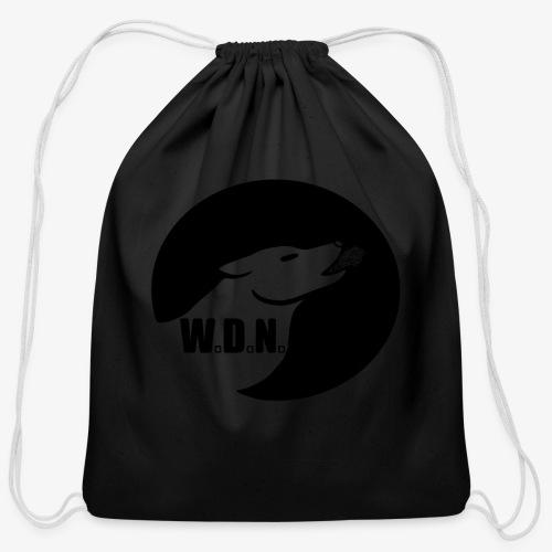 WolfDevourNight - Cotton Drawstring Bag
