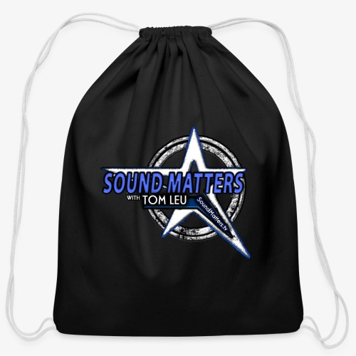 SOUND MATTERS Badge - Cotton Drawstring Bag