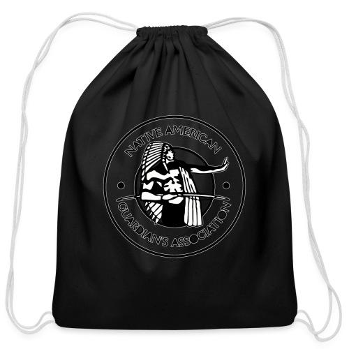Naga LOGO Outlined - Cotton Drawstring Bag