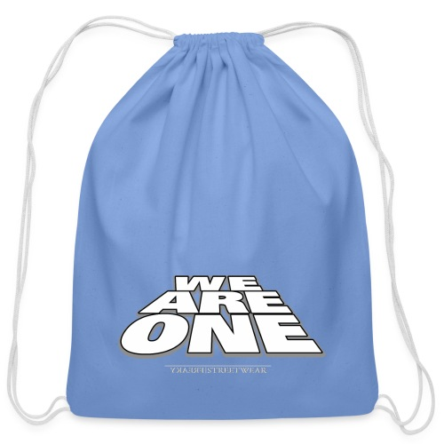 We are One 2 - Cotton Drawstring Bag