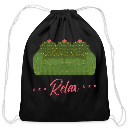 Relax! - Cotton Drawstring Bag