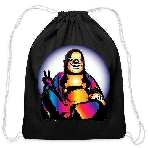 Cool Buddha - Cotton Drawstring Bag