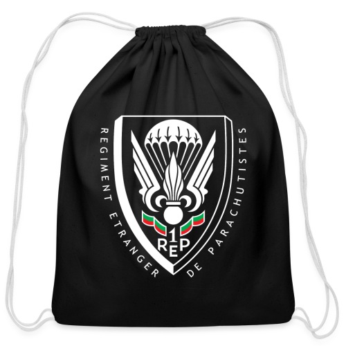 1er REP - Regiment - Badge - Cotton Drawstring Bag