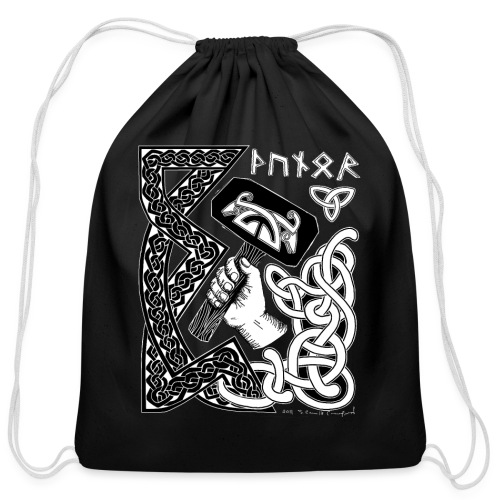Thunor - Cotton Drawstring Bag