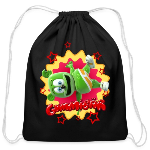 Gummibär Starburst - Cotton Drawstring Bag