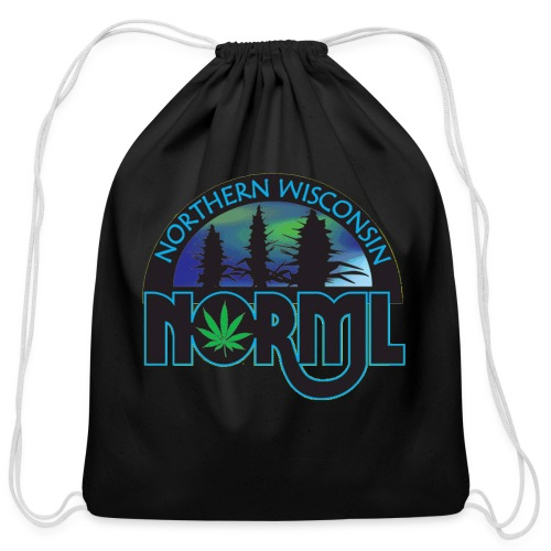 Northern Wisconsin NORML Official Logo - Cotton Drawstring Bag