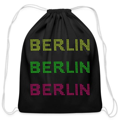 Berlin dots-font - Cotton Drawstring Bag