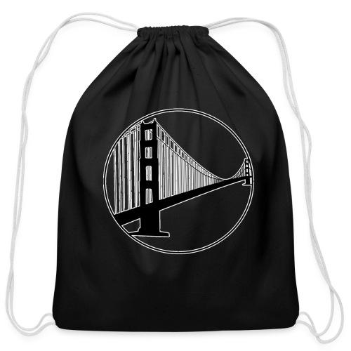 San Francisco - Cotton Drawstring Bag