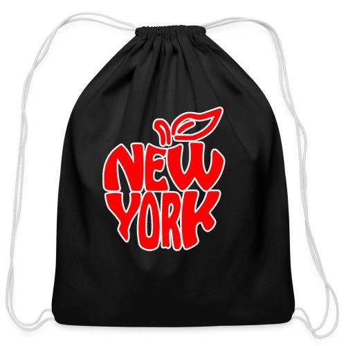 New York - Cotton Drawstring Bag
